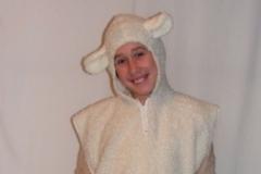 Bárány jelmez