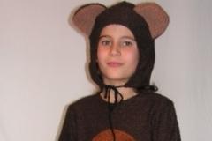 Barna medve jelmez