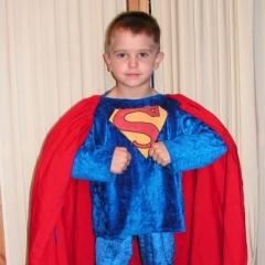 Superman szuperhős jelmez