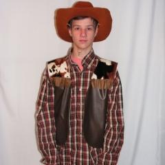 Western fiú jelmez