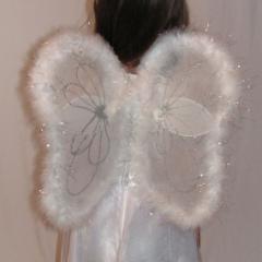 Tündér angyal jelmez szárny