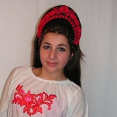 Orosz lány jelmez