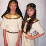 Fáraó és Kleopátra jelmez