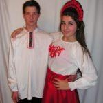 Orosz táncruha