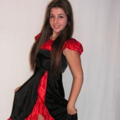 Spanyol lány jelmez